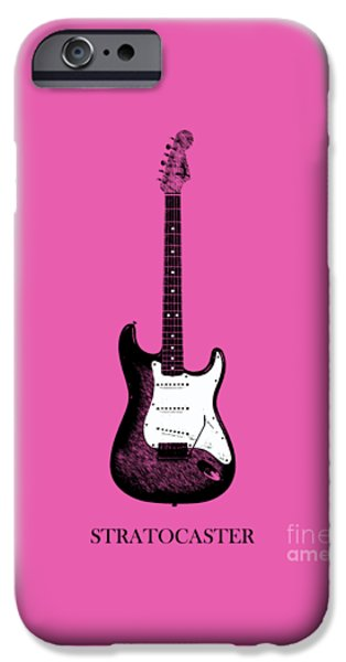 Guitar iPhone Cases - Fender Stratocaster 64 iPhone Case by Mark Rogan