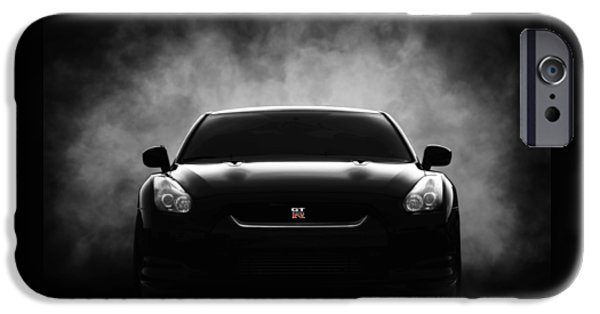 Smoke iPhone Cases - Gtr iPhone Case by Douglas Pittman