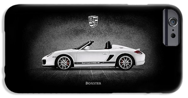 Turbo iPhone Cases - Porsche Boxster iPhone Case by Mark Rogan