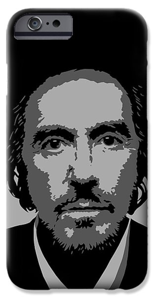 Al Pacino iPhone Cases - Al iPhone Case by Ian  King