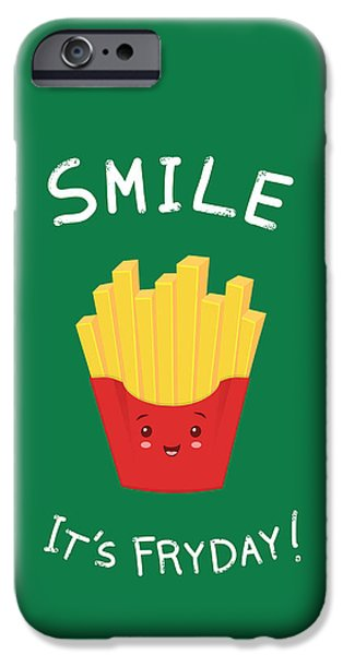 Chip Drawings iPhone Cases - The best day iPhone Case by Ana Villanueva