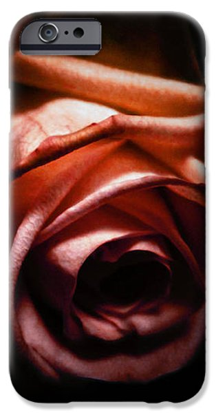 Rose iPhone Cases - Red rose iPhone Case by Nicklas Gustafsson