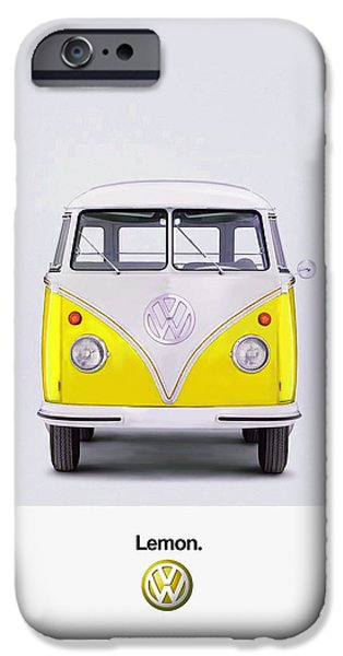Bus Photographs iPhone Cases - Lemon iPhone Case by Mark Rogan