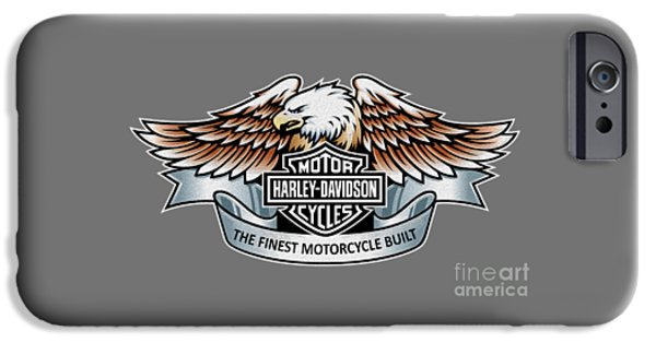 Motorcycle iPhone Cases - The Finest Motorcycle Built iPhone Case by Mark Rogan