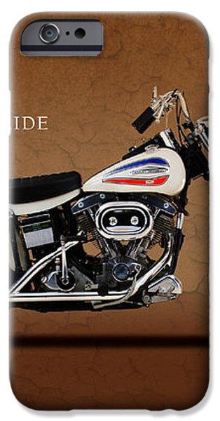 Harley-Davidson Model FX Super Glide 1971 iPhone Case by Mark Rogan