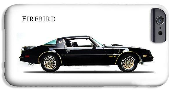 Muscle Car iPhone Cases - Pontiac Firebird iPhone Case by Mark Rogan