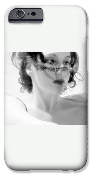 Self Discovery iPhone Cases - Ascension - Self Portrait iPhone Case by Jaeda DeWalt