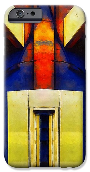 Modern Abstract iPhone Cases - Ascension iPhone Case by RC deWinter