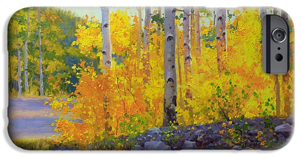 Breathtaking iPhone Cases - Aspen Vista iPhone Case by Gary Kim