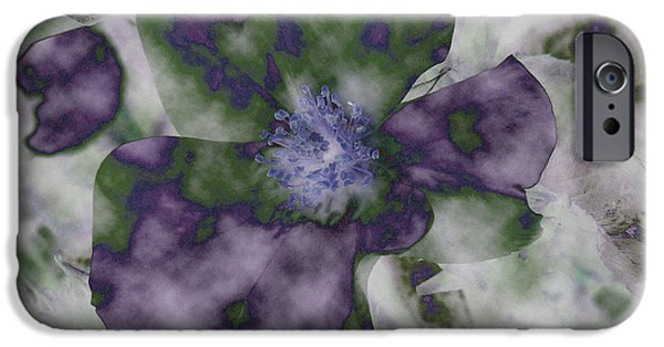 Best Sellers -  - Abstract Digital Mixed Media iPhone Cases - At Peace iPhone Case by Bonnie Bruno
