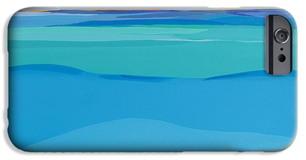 Sea iPhone Cases - At Peace iPhone Case by Sarah Gillard