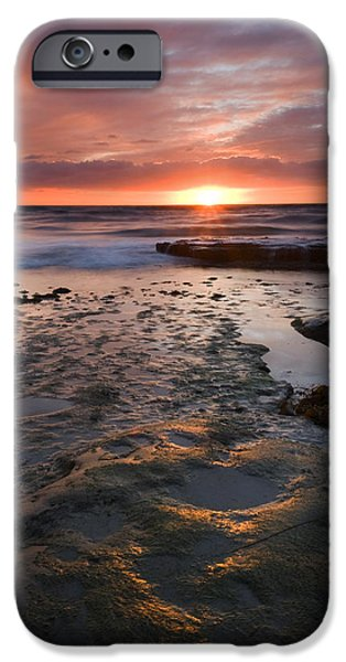 At the Horizon iPhone Case by Mike  Dawson