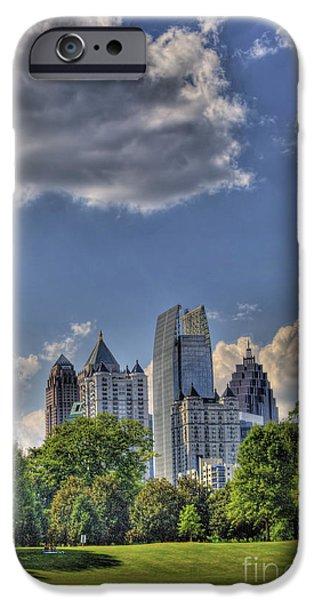 Atlanta Piedmont Park View iPhone Case by Corky Willis Atlanta Photography