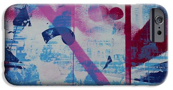Printmaking iPhone Cases - Atlantic Station iPhone Case by Amanda Abraham