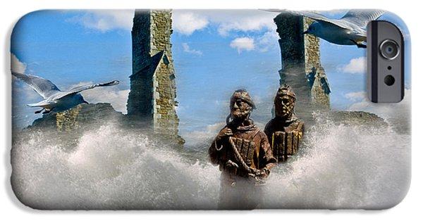 Atlantis iPhone Cases - Atlantis iPhone Case by Brian Roscorla