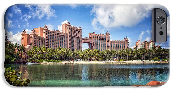 Atlantis iPhone Cases - Atlantis Resort - Paradise Island -  - Bahamas iPhone Case by Jon Berghoff