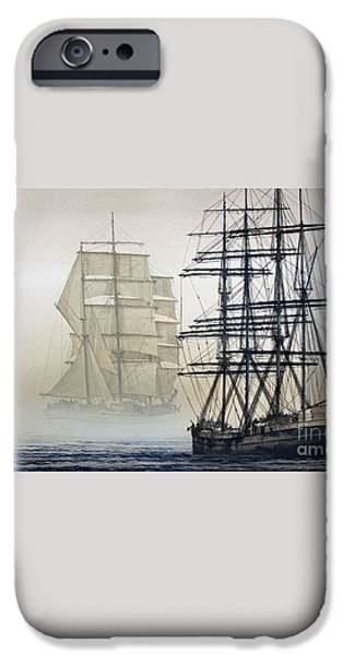 ATLAS and INVERCLYDE iPhone Case by James Williamson