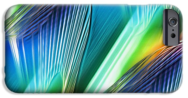 Abstract Digital Paintings iPhone Cases - Atmosphoria iPhone Case by Mark Birkland