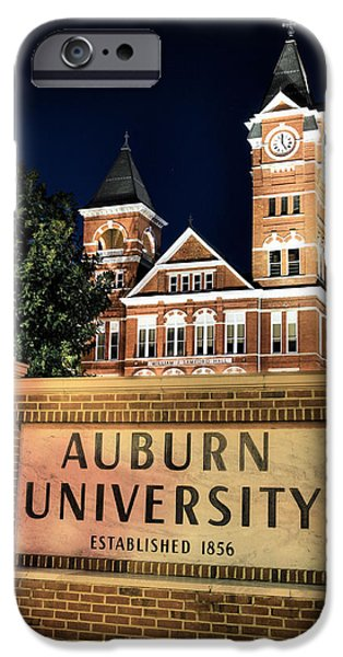 Auburn iPhone Cases - Auburn University iPhone Case by JC Findley