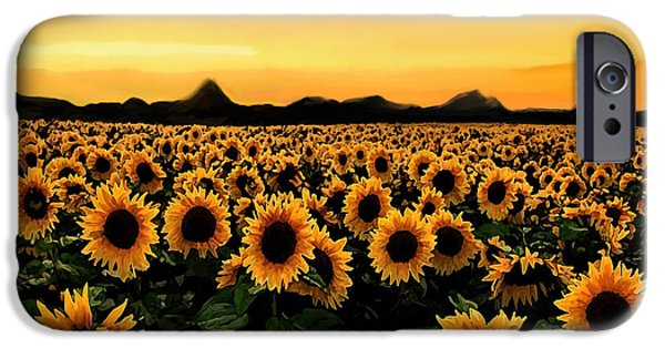 Crops iPhone Cases - August 2015 iPhone Case by Dennis Buckman