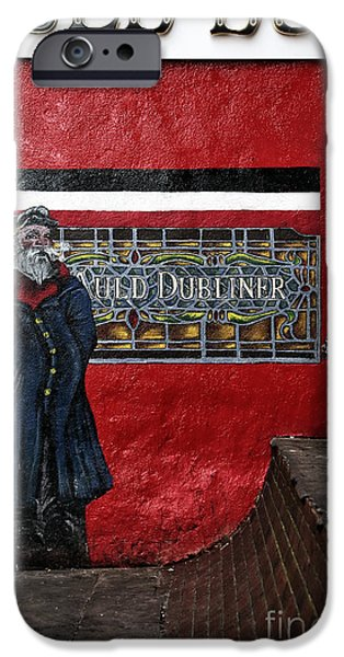 Interior Scene iPhone Cases - Auld Dub iPhone Case by John Rizzuto
