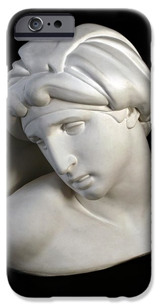 Bust Sculptures iPhone Cases - Aurora by Michelangelo iPhone Case by Andrea Felice