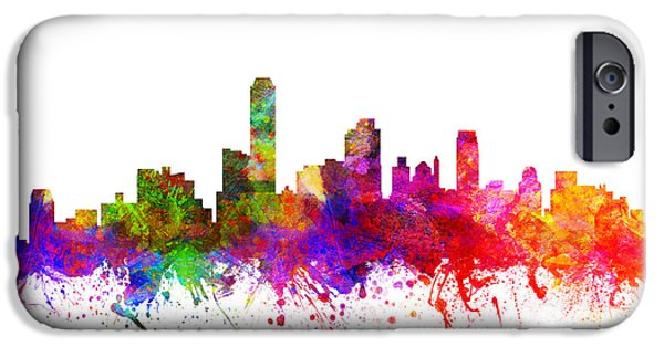 Australia Drawings iPhone Cases - Australia Australia Cityscape 02 iPhone Case by Aged Pixel