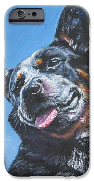 Australian Cattle Dog 2 iPhone Case by Lee Ann Shepard