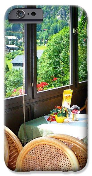 Austrian Cafe iPhone Case by Carol Groenen