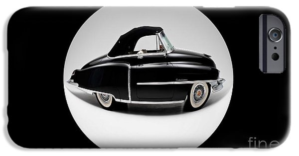 Old Cars iPhone Cases - Auto Fun 01 - Cadillac iPhone Case by Variance Collections
