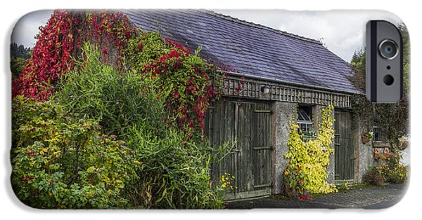 Rural iPhone Cases - Autumn Barn iPhone Case by Ian Mitchell