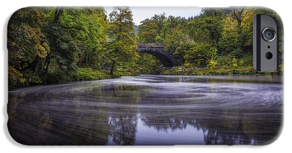 Fall iPhone Cases - Autumn Betws y Coed iPhone Case by Ian Mitchell