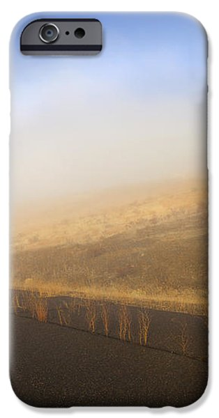 Autumn Fog bow iPhone Case by Mike  Dawson