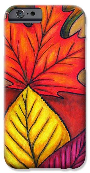 Autumn Glow iPhone Case by Lisa  Lorenz