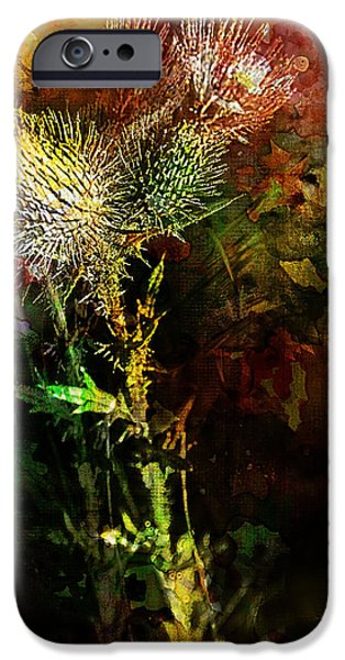Fall iPhone Cases - Autumn Imprints iPhone Case by Jo-Anne Gazo-McKim