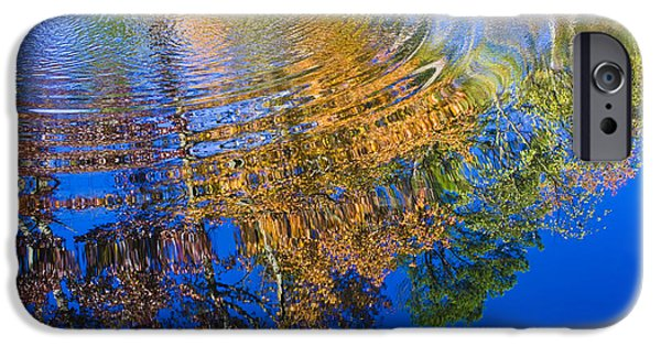 Hightower iPhone Cases - Autumn Reflections iPhone Case by Tim Hightower