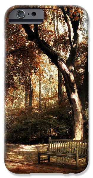 Autumn Repose iPhone Case by Jessica Jenney