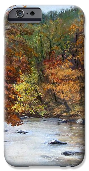 Autumn River iPhone Case by Jack Skinner