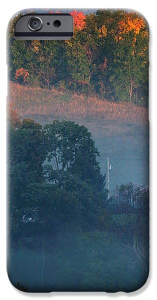 Autumn scenic - West Rupert Vermont iPhone Case by Thomas Schoeller