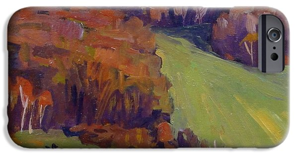 Recently Sold -  - Shed iPhone Cases - Autumn Shapes iPhone Case by Thor Wickstrom