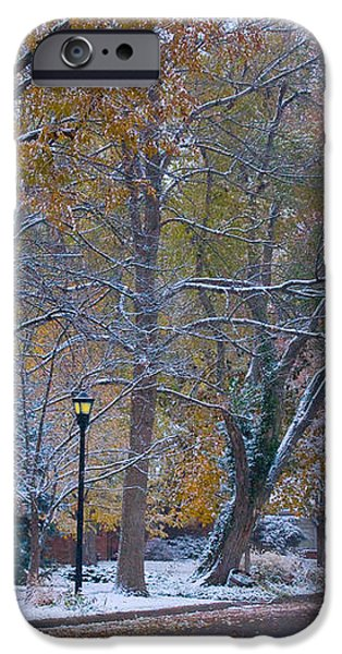 Autumn Snow iPhone Case by James BO  Insogna