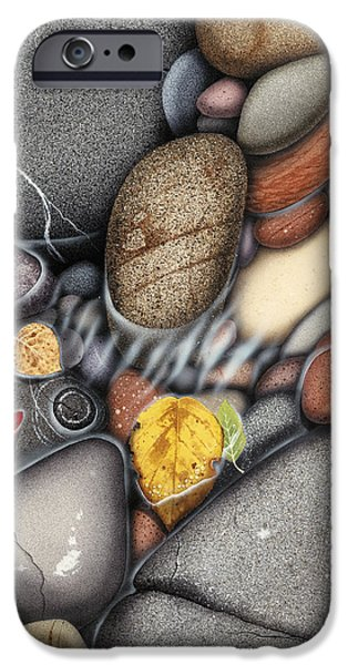 Autumn Stones iPhone Case by JQ Licensing