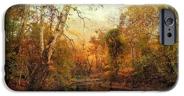 Autumn Digital iPhone Cases - Autumnal Tones iPhone Case by Jessica Jenney