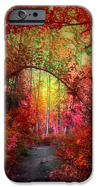 Overhang iPhone Cases - Autumns Archway iPhone Case by Tara Turner