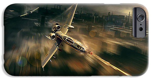 Weapon iPhone Cases - Avenger iPhone Case by Peter Van Stigt