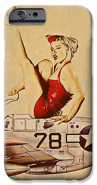 Aviation 1953 iPhone Case by Cinema Photography
