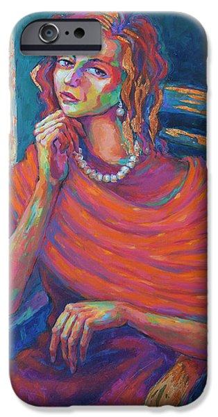 Destiny iPhone Cases - Awaiting Change iPhone Case by Jyotika Shroff