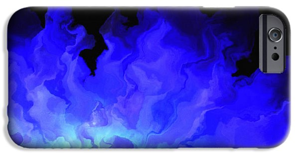 Abstract On Canvas Paintings iPhone Cases - Awake My Soul - Abstract Art iPhone Case by Jaison Cianelli