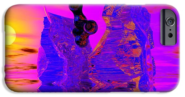 Abstract Digital Photographs iPhone Cases - Awakening iPhone Case by David Lane