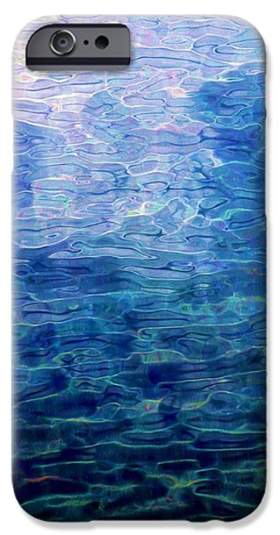 Abstract Digital Digital iPhone Cases - Awakening from the depths of slumber iPhone Case by David Lane